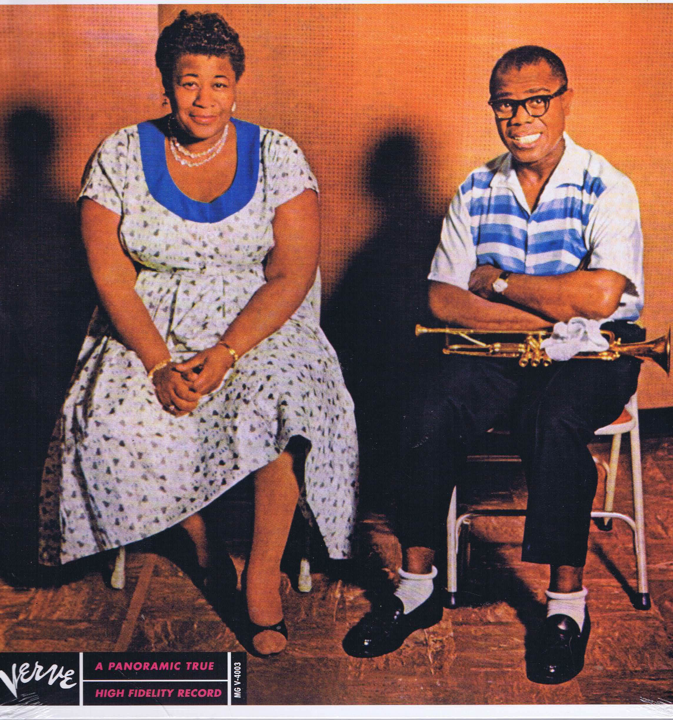 Ella Fitzgerald And Louis Armstrong Ella And Louis Mg