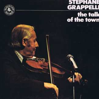Stephane Grappelli ‎– The Talk Of The Town - Black Lion - LP Vinyl Record