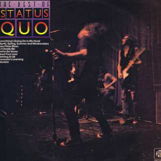 Status Quo ‎– The Rest Of Status Quo - PKL 5546 - LP Vinyl Record