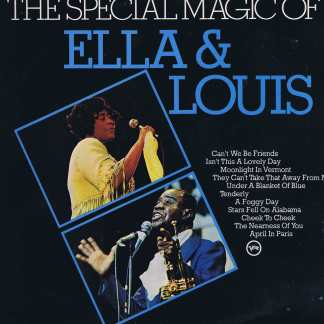 Ella Fitzgerald & Louis Armstrong - Special Magic Of Ella & Louis - LP Vinyl Record