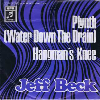Jeff Beck – Plynth (Water Down The Drain) - 1C006-90346 - Promo 7-inch Record