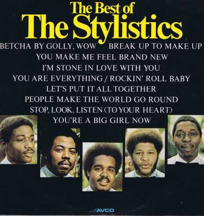 The Stylistics – The Best Of The Stylistics - 9109 003 - LP Vinyl Record