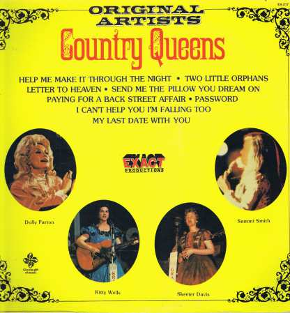 Various Artists - Country Queens – EX-217 - LP Vinyl Record