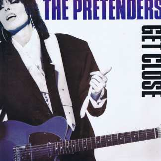 The Pretenders – Get Close – WX 64 – LP Vinyl Record
