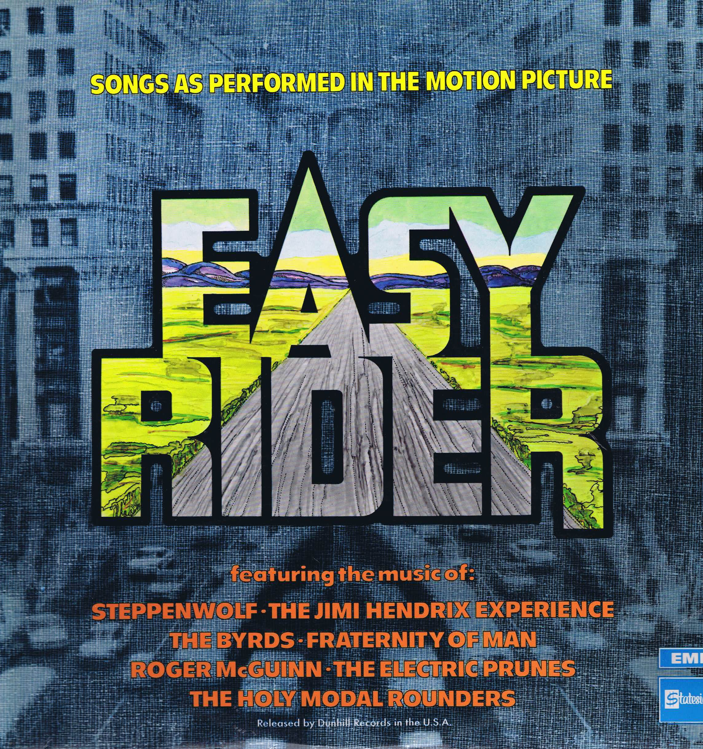 Easy Rider Songs As Performed In The Motion Picture