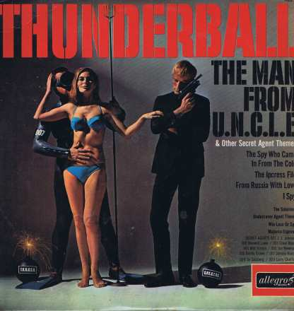 The Jazz All Stars - Thunderball & Other Secret Agent Themes - ALL 807