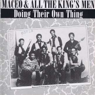 Maceo & All The King's Men - Doing Their Own Thing – CRB 1176 - LP Vinyl Record