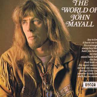 The World Of John Mayall - Decca SPA 47 - LP Vinyl Record