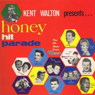 Various Artists - Honey Hit Parade - GGL 0129 - LP Vinyl Record