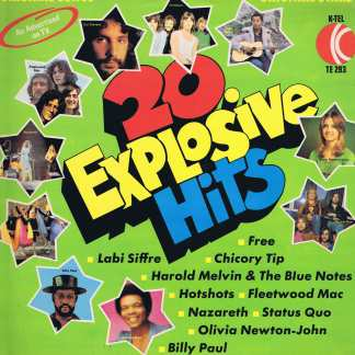 Various Artists - 20 Explosive Hits - K-Tel TE 293 - LP Vinyl Record