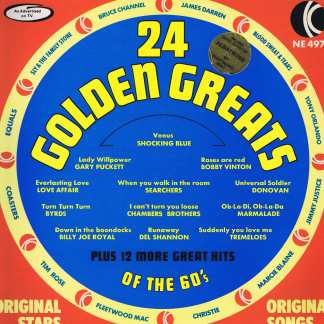 Various Artists - 24 Golden Greats Of The 60's - NE 497 - LP Vinyl Record