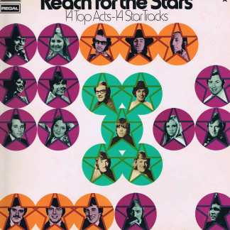 Reach For The Stars - 14 Top Acts - 14 Star Tracks - SRS 5042 - LP Vinyl Record