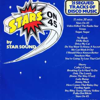 Star Sound – Stars On 45 - CBS A 13 1102 - 12-inch Vinyl Record