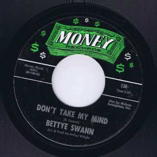 Bettye Swann – I Think I'm Falling In Love - Money Records 136 - 7-inch Vinyl Record