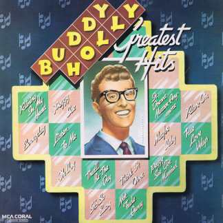 Buddy Holly – Greatest Hits – MCA Coral CDLM 8007