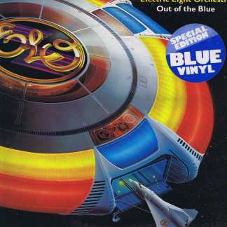 Electric Light Orchestra – Out of the Blue – Rare Blue Vinyl – 2-LP Record