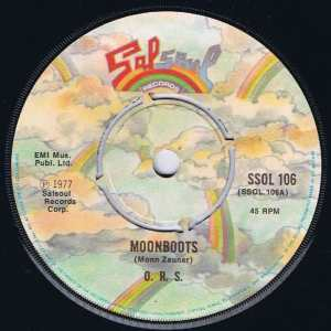 ORS - Moonboots - Salsoul SSOL 106 - 7-inch Vinyl Record