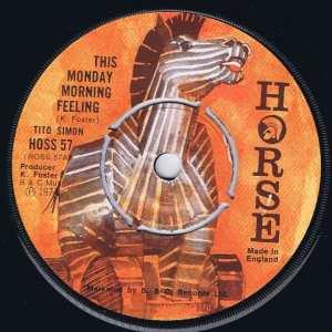 Tito Simon - This Monday Morning Feeling – HOSS 57 - 7-inch Vinyl Record