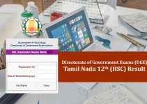 TN Results 2019 | Tamilnadu 12th Result 2019 | tnresults.nic.in