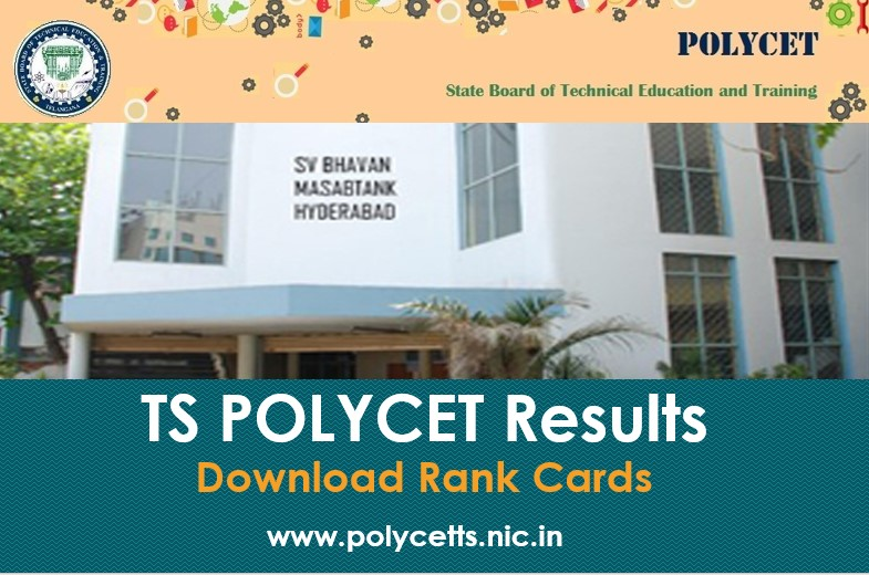 TS POLYCET Results - Download Rank Card Here