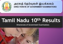 Tamilnadu 10th Results 2019 TN SSLC Results 2019 tnresults.nic.in