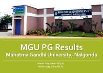 MG University PG Results, Nalgonda