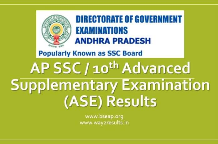AP 10th Supplementary Results at manabadi.co.in