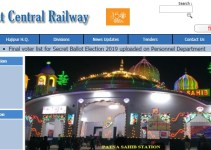 East Central Railway Recruitment 2019