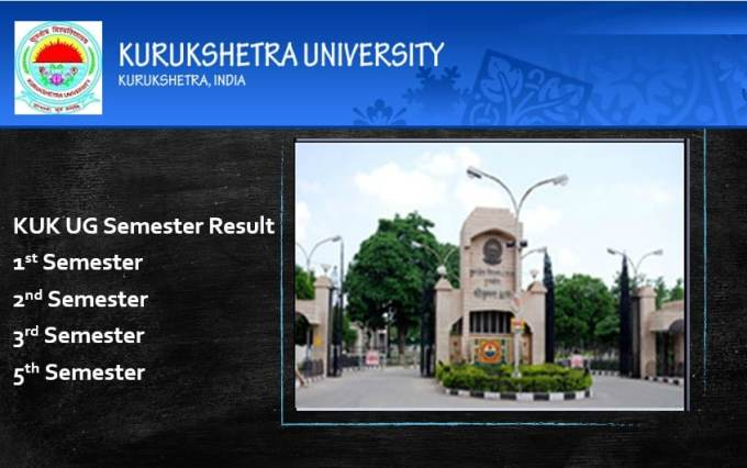 KUK UG 1st 2nd 3rd and 5th Semester Results 2019
