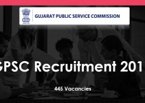 GPSC Recruitment 2019