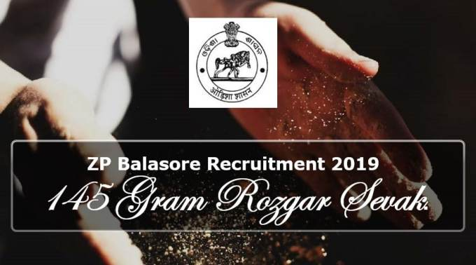 ZP Balasore Recruitment 2019