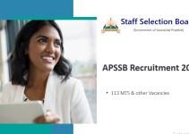 APSSB Recruitment 2019
