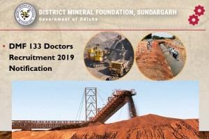 DMF 133 Doctors Recruitment 2019 Notification