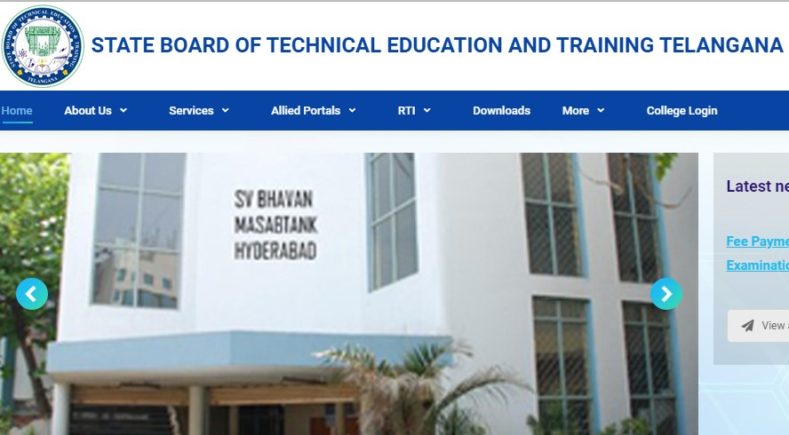 TS SBTET Diploma Hall Tickets