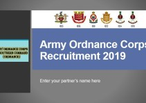 Army Ordnance Corps Recruitment 2019