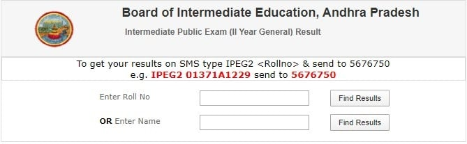 AP Inter Result Name Wise (indiaresults.com)