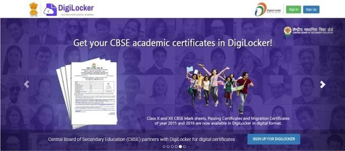 CBSE Class X Results through DIGILOCKER