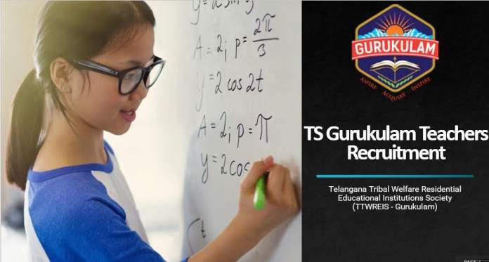 TS Gurukulam Teachers Recruitment (TTWREIS)