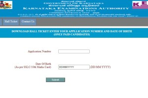Download KCET Hall Ticket 2020