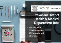 Prakasam District Staff Nurse Recruitment 2020