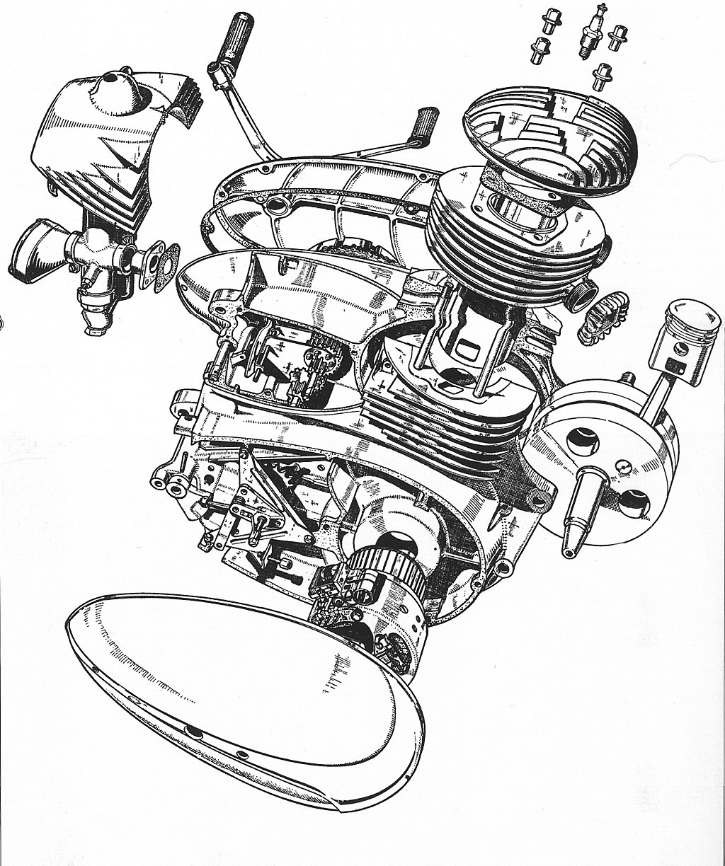 Dan S Motorcycle Shop Manuals