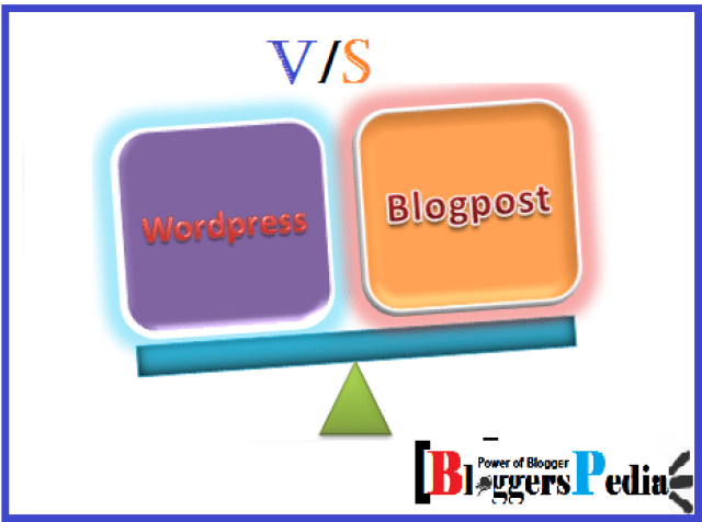 Wordpress vs blogspot who is winner