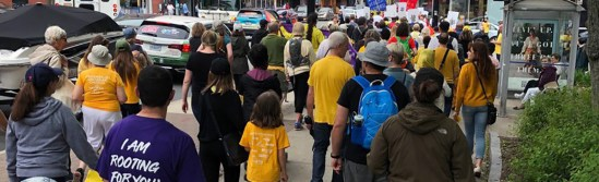 Walk with Refugees for a Stronger Canada 2019