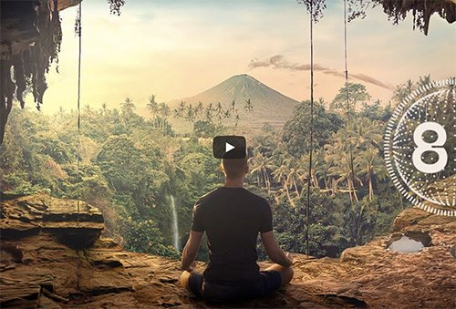 8D Meditation Music | Relax Mind Body (30 Minutes)