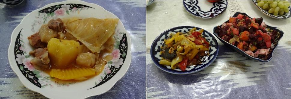 ウズベキスタンで食べた煮込み料理