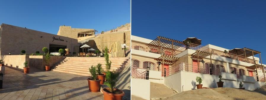 ヨルダン・ペトラ遺跡目にあるペトラゲストハウス