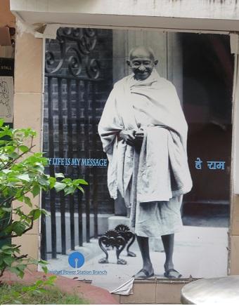 インドの父ガンジーさん