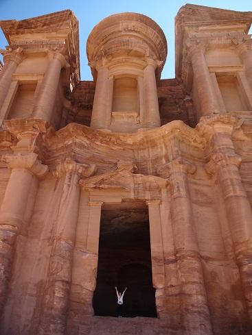 ヨルダン・ペトラ遺跡のエド・ディル