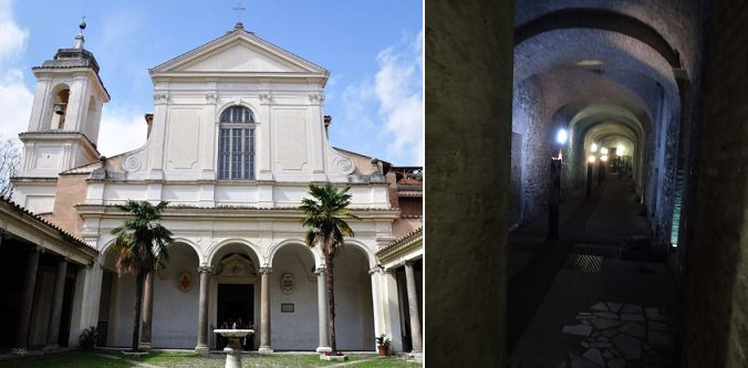 イタリアローマのサン・クレメンテ教会
