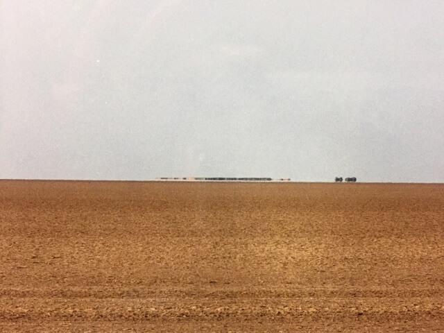 チュニジアで見た蜃気楼